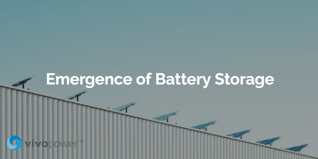 Emergence of Battery Storage